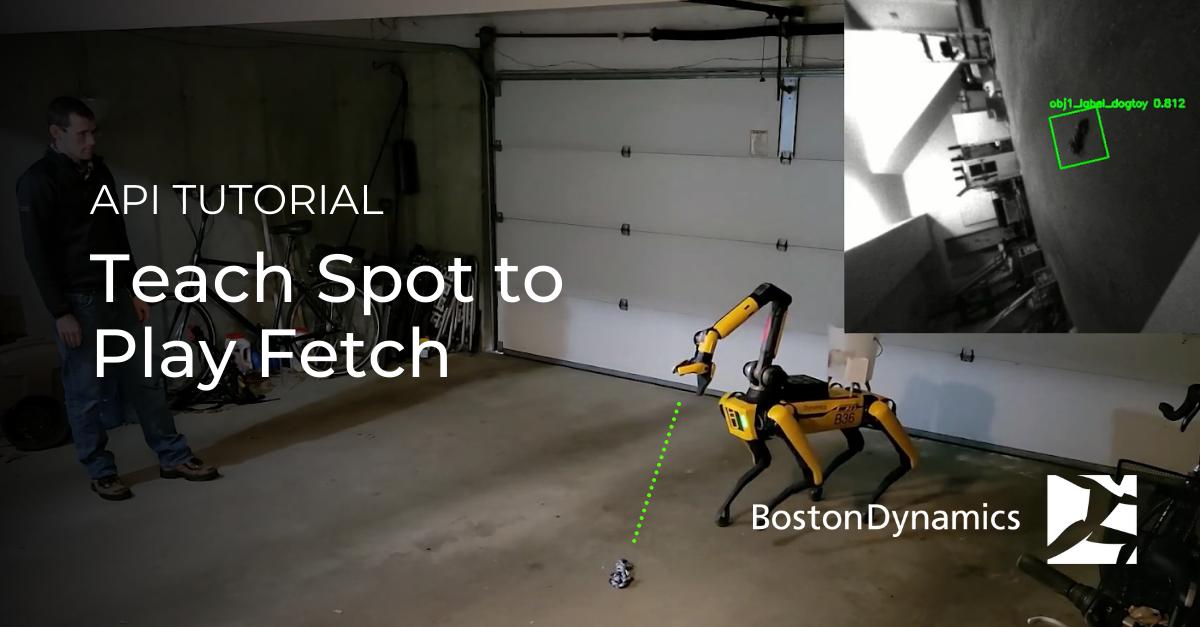 API Tutorial - Teach Spot to Play Fetch