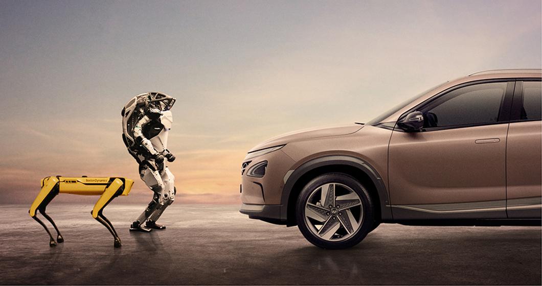 Hyundai x Boston Dynamics